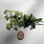 """Un-mounted Cameo of """"Light of the World"""" made in Italy"""