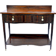 Mahogany Hepplewhite Diminutive Sideboard Early 19th Century
