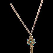 Florenza Pendant Necklace Perfume Holder