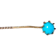 SALE Turquoise Tiepin, otherwise called Stick Pin