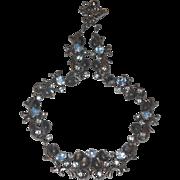 SALE Florenaz Dusty Blue Necklace in Year End SALE