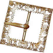 SALE BLOWOUT SALE: Intricate Victorian Belt Buckle