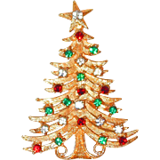 REDUCED Large Designer Christmas Tree Pin by Mylu
