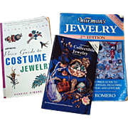 SOLD Collectible Jewelry Reference Guides: 3 Books - Warman's, Official Price Guide and 100 Ye