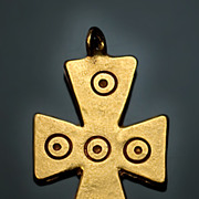 SOLD Byzantine Medieval Pectoral Cross Pendant