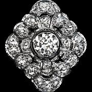 Vintage Art Deco Diamond Platinum Engagement Ring