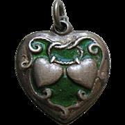 Walter Lampl Lasso My Heart Enameled Sterling Heart Charm