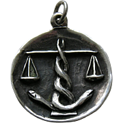 James Avery Libra Sterling Charm