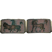Perli Werkstatte Matte Enamel Horses Bracelet