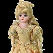 Musical French Automaton w/ Dancing Girl C. 1890 - All Original