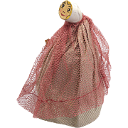 Vintage Parian Pipe Doll
