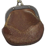 Tiny Leather Doll Purse