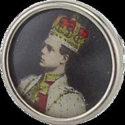 Vintage Cuff Button/Stud of Edward VIII