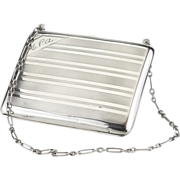 Sterling Silver Chatelaine Card Case Circa 1921