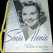 Sonia Henie Skating Programme 1941 to 1942