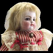 SALE Antique 11 1/4 Block Letter F.G. Doll