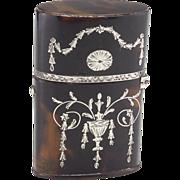 Rare 19th Century Perfume Etui