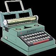 Vintage Tin Toy Typewriter