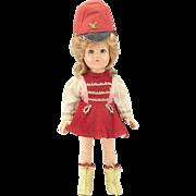 Vintage Ann Shirley Majorette Composition Doll