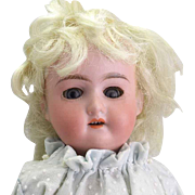 Antique Cabinet Sized A.M. 390 Bisque Doll