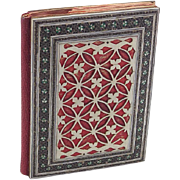 19th Century Indian Mosaic Card Case