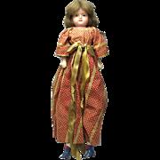 Antique Wax Over Papier Mache Doll