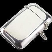 1926 Silver Vesta Case