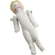 Vintage Small All Bisque Doll