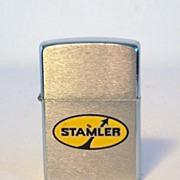 ZIPPO Stamler Logo in Yellow Paint 1986