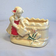 Shawnee Dutch Girl Planter 1950's