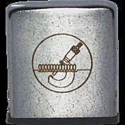 Vintage Zippo Tape Measure w/Micrometer Engraving