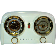 "1951 Crosley ""Dashboard"" Table Top Clock Radio"