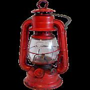 """Dietz Red """"COMET"""" Oil Lantern 1960's"""
