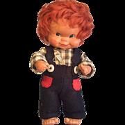 REDUCED Vintage GOEBEL Boy Doll - Western Germany by Charlot Byj 1957