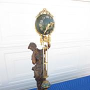 Stunning Original Ansonia Juno Swing Clock - Super Nice!