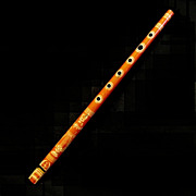 Lithographed Penny Whistle / Saxaflute