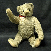 SOLD 1910 Antique Mohair Jointed Teddy Bear