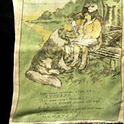 Saalfield Muslin Book, ANIMAL FRIENDS, 1915