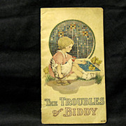 Margaret Evans Price illus, The Troubles of Biddy, 1917