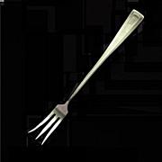 Sterling Silver Lemon Fork by Wallace, CABOT Pattern
