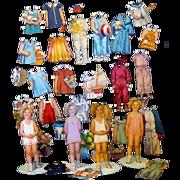 Shirley Temple Cut Paper Dolls, 1934, Saalfield #2112