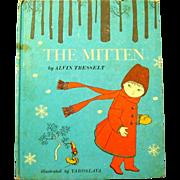 """SOLD Old Ukrainian Folk Tale, """"The Mitten"""" Alvin Tresselt, 1969"""