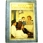 """""""Riley Child Verse"""", Poems Illustrated by Ethel Franklin Betts, 1906"""