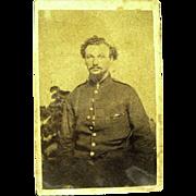 Civil War CDV of Soldier from New York, 1860s