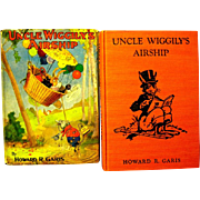 "1939 ""Uncle Wiggily's Airship"", HC Book by Garis, Rache Illustrations"