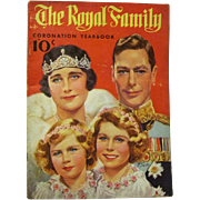 "1937 ""The Royal Family Coronation Yearbook"" of King George VI"