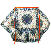Never Used Party apron Made from Handkerchiefs, ca. 1950s