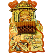 Romeo and Juliet Large Honeycomb Valentine
