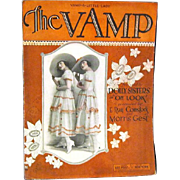 "1919 Sheet Music, ""The Vamp', Picture of Original 'Dolly Sisters' in ""Oh Look"""