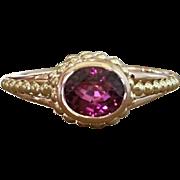 Tourmaline Ring - Pink Tourmaline Ring - Jewelry - Gemstone Ring - Rose Gold Ring - Fine ...